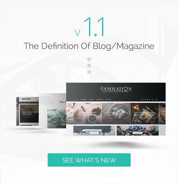 INNOVATION: Multi-Concept News, Magazine & Blog Theme - 3