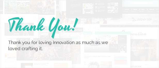 Innovation: Multi-Concept News, Magazine & Blog Theme - 12