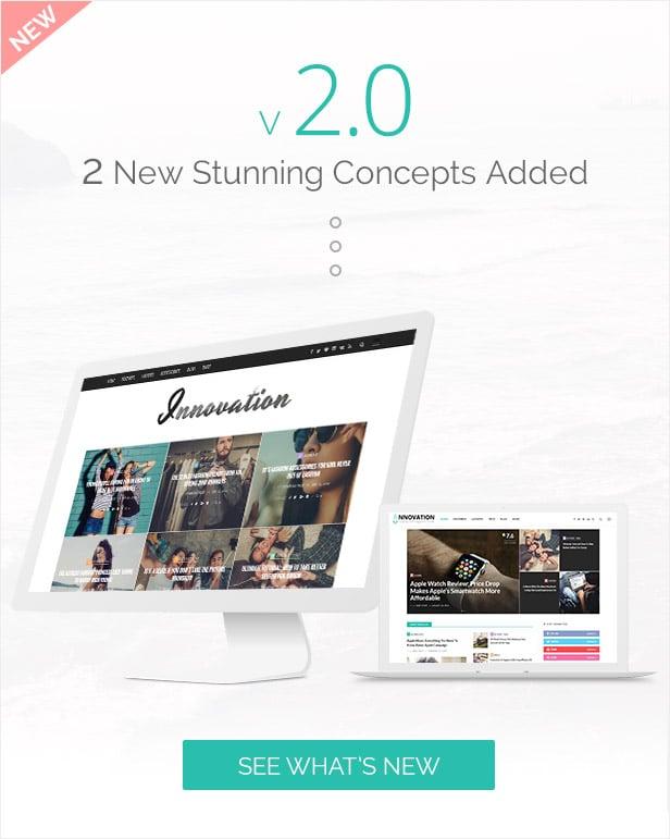 Innovation: Multi-Concept News, Magazine & Blog Theme - 2