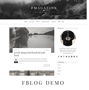 F - Magazine WordPress Theme