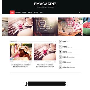 F - Magazine WordPress Theme - 4  Download F – Magazine WordPress Theme nulled flat demo