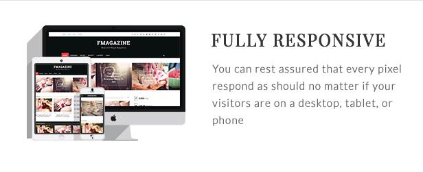 F - Magazine WordPress Theme - 8  Download F – Magazine WordPress Theme nulled responsive