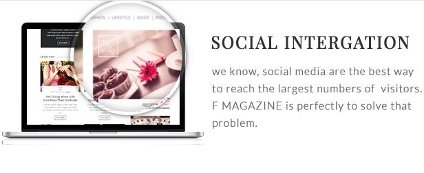 F - Magazine WordPress Theme - 13  Download F – Magazine WordPress Theme nulled social